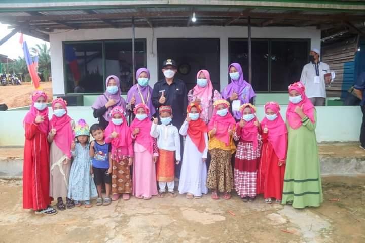 Foto : Dukung pendidikan berbasis Sekolah Islam Tepian Langsat. (dok/Ist Ardiansyah Sulaiman)